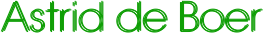 Astrid de Boer Zangpedagoge Logo